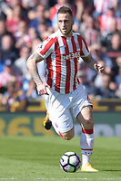 Stoke City's Marko Arnautovic<br /> <br /> Photographer Terry Donnelly/CameraSport<br /> <br /> The Premier League - Stoke City v Liverpool - Saturday 8th April 2017 - bet365 Stadium - Stoke-on-Trent<br /> <br /> World Copyright &copy; 2017 CameraSport. All rights reserved. 43 Linden Ave. Countesthorpe. Leicester. England. LE8 5PG - Tel: +44 (0) 116 277 4147 - admin@camerasport.com - www.camerasport.com