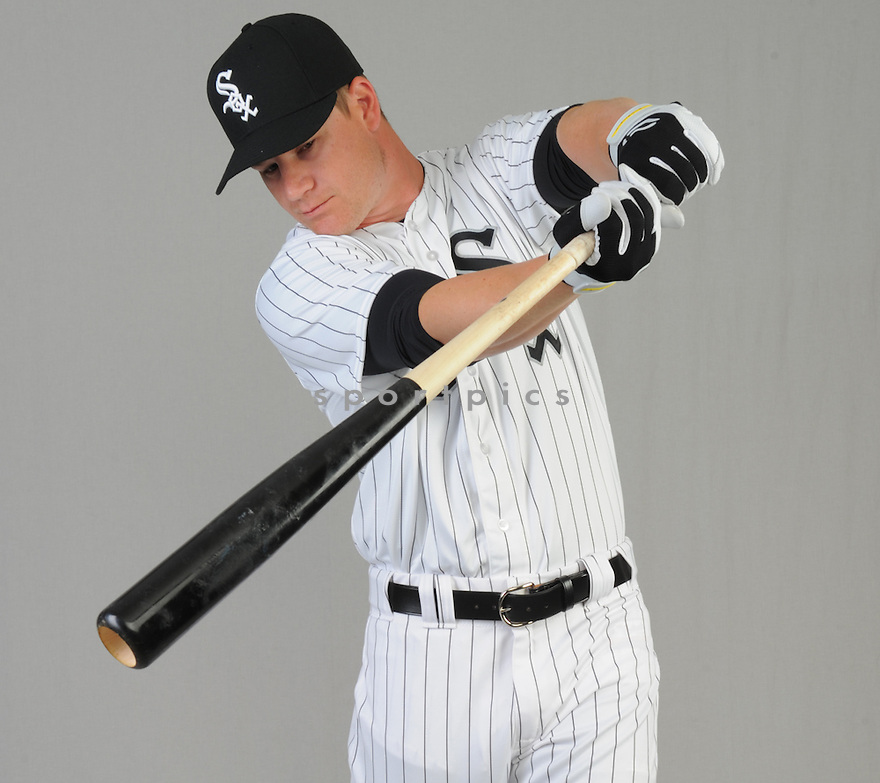 Chicago White Sox Gordon Beckham (15) during photo day on February 28, 2015 in Glendale, AZ.