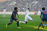 04.11.2018, Borussia Park , Moenchengladbach, GER, 1. FBL,  Borussia Moenchengladbach vs. Fortuna Duesseldorf,<br />  <br /> DFL regulations prohibit any use of photographs as image sequences and/or quasi-video<br /> <br /> im Bild / picture shows: <br /> Raffael (Gladbach #11),  gefoult <br /> <br /> Foto &copy; nordphoto / Meuter