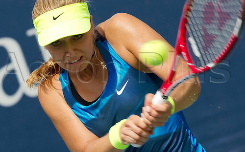 27.08.2012. New York, USA.  U.S. Open 2012 New York City New York USA  WTA Tennis women Tour U.S. Open 2012 Grand Slam Flushing Meadows Picture shows Sabine Lisicki ger  Tennis U.S. Open New York Flushing Meadows