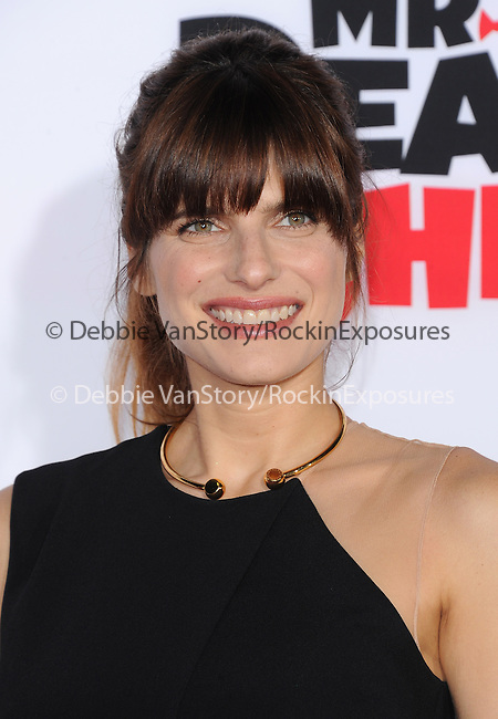 Lake Bell attends The Twentieth Century Fox and Dreamwork Animation Holly-Woof Premiere of Mr. Peabody & Sherman Premiere held at The Regency Village Westwood in Westwood, California on March 05,2014                                                                               © 2014 Hollywood Press Agency
