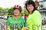 Finuge Charity Cycle: Taking part in the Finuge Freewheelers Cycling Club's charity cycle for Multiple Sclerosis around North Kerry on Saturday lsat were Noreen McAuliffe, Lixnaw & Kay McDonnell, Listowel.