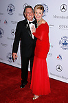 BEVERLY HILLS, CA. - October 25: Singer/Songwriter Neil Sedaka and wife Leba Strassberg arrive at The 30th Anniversary Carousel Of Hope Ball at The Beverly Hilton Hotel on October 25, 2008 in Beverly Hills, California.