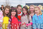 Florence Mitchell, Roisin O'Connor, Aoife Nolan, Elaine Doody, Adrianne McEllistrim and Aisling Kirwin having a laugh at the Castleisland St Patricks Day parade on Monday   Copyright Kerry's Eye 2008
