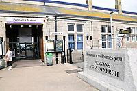 Penzance railway station, Cornwall, UK