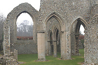 Pic by Si Barber  - 07739 472 922<br /> Creake Abbey in North Norfolk. Image shows - Abbey.