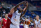 7th September 2017, Fenerbahce Arena, Istanbul, Turkey; FIBA Eurobasket Group D; Belgium versus Serbia; Center Kevin Tumba #16 of Belgium in action under the basket during the match