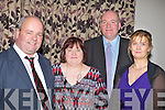 TRAVELLED: Travelled from Dingle to attend the Kerry County Council Machinery Complex Social in The Carlton Hotel, Tralee on Saturday night, L-r: Seamus and Geraldine Kennedy, Ronan and Brenda Byrne.   ..................