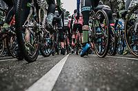 start ready.<br /> <br /> men's elite race<br /> Lampiris Zilvermeercross Mol / Belgium 2017