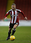 Matt Done of Sheffield Utd during the English League One match at the Bramall Lane Stadium, Sheffield. Picture date: November 19th, 2016. Pic Simon Bellis/Sportimage