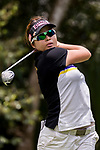 Ploychompoo Wirairungrueng of Thailand tees off during the 2017 Hong Kong Ladies Open on June 11, 2017 in Hong Kong, Hong Kong. Photo by Chris Wong / Power Sport Images