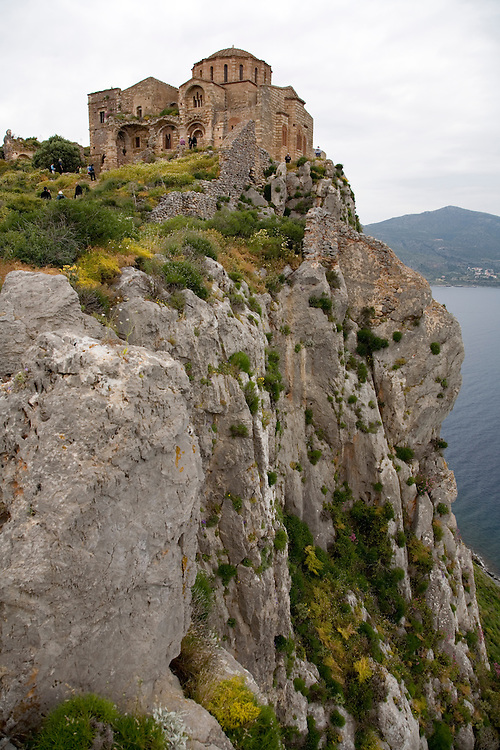 """The island fortress of Monemvasia is often referred to as the """"Gibraltar of Greece""""."""