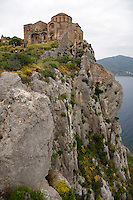 "The island fortress of Monemvasia is often referred to as the ""Gibraltar of Greece""."