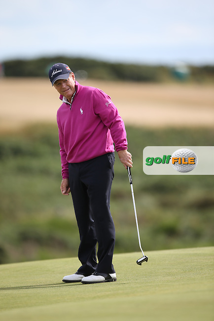 Tom Watson (USA) during the Final Round of the 2014 Senior Open Championship presented by Rolex from Royal Porthcawl Golf Club, Porthcawl, Wales. Picture:  David Lloyd / www.golffile.ie
