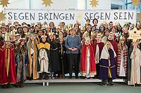 2018/01/08 Berlin | Bundeskanzlerin empfaengt Sternsinger