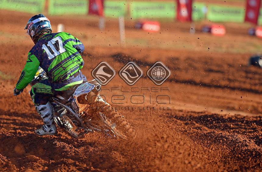 Kurt Gow / Yamaha<br /> 2015 MX Nationals / Round 4 / MX2<br /> Australian Motocross Championships<br /> Murray Bridge SA Sunday 17 May 2015<br /> &copy; Sport the library / Jeff Crow