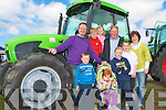 FAIR: Enjoying the Kingdom County Fair on Sunday pictured Jeremiah Daly, Bryan Daly, Ma?ire Collins, Timmy Collins, Maria Daly, Diarmuid Daly, Ma?ire Daly, Siobha?n Collins and Ellen Collins all from Counguilla, Scartaglin.