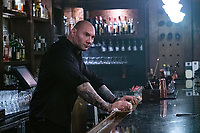 Escape Plan 2: Hades (2018) <br /> Dave Bautista<br /> *Filmstill - Editorial Use Only*<br /> CAP/MFS<br /> Image supplied by Capital Pictures