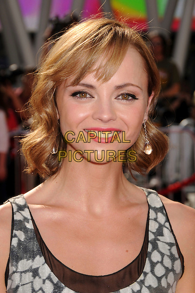 "CHRISTINA RICCI .""Speed Racer"" Los Angeles Premiere at the Nokia Theatre, Los Angeles, California, USA, 26 April 2008..portrait headshot earrings .CAP/ADM/BP.©Byron Purvis/Admedia/Capital PIctures"