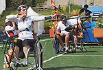November 12 2011 - Guadalajara, Mexico:  Lyne Tremblay competing at the 2011 Parapan American Games in Guadalajara, Mexico.  Photos: Matthew Murnaghan/Canadian Paralympic Committee