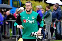 HAREN - Voetbal, Eerste training FC Groningen, Sportpark de Koepel, seizoen 2018-2019, 24-06-2018,  FC Groningen doelman Kevin Begois