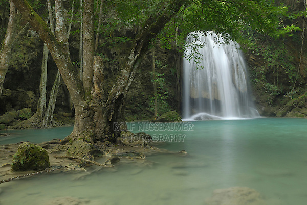 Seven Step Waterfall, Erawan National Park, Thailand