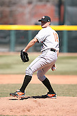 April 15th 2008:  Pitcher Chorye Spoone (18) of the Bowie Baysox, Class-AA affiliate of the Baltimore Orioles, during a game at Jerry Uht Park in Erie, PA.  Photo by:  Mike Janes/Four Seam Images