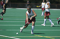 2 September 2004: Hillary Braun during Stanford's 3-1 loss to Iowa at the varsity field hockey turf in Stanford, CA.