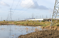 HS1 on the Edge of Rainham Marshes