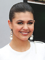 WESTWOOD, LOS ANGELES, CA, USA - AUGUST 03: Amber Montana at the Los Angeles Premiere Of Paramount Pictures' 'Teenage Mutant Ninja Turtles' held at Regency Village Theatre on August 3, 2014 in Westwood, Los Angeles, California, United States. (Photo by Celebrity Monitor)