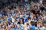 09.06.2019, ISS Dome, Duesseldorf,  GER, 1. HBL. Herren, BHC vs. SG Flensburg Handewitt, <br /> <br /> im Bild / picture shows: <br /> jubelnde BHC Fans <br /> <br /> <br /> Foto © nordphoto / Meuter