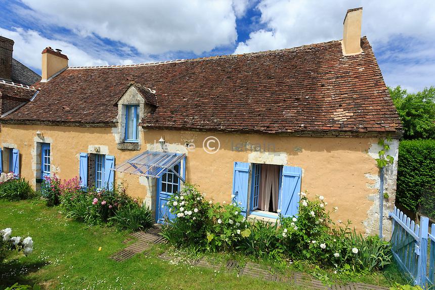France, Orne (61), Nocé, maison du village // France, Orne, Noce, typical house in the village