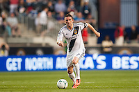 Robbie Keane (7) of the Los Angeles Galaxy. The Los Angeles Galaxy defeated the Philadelphia Union 4-1 during a Major League Soccer (MLS) match at PPL Park in Chester, PA, on May 15, 2013.
