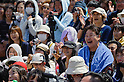 MAY 5, 2016 - The crowd reacts during a ninja show at Nagoya Castle in Nagoya, Aichi Prefecture, Japan. Aichi Prefecture hired an American and six Japanese ninjas to promote tourism in the region. (Photo by Ben Weller/AFLO) (JAPAN) [UHU]