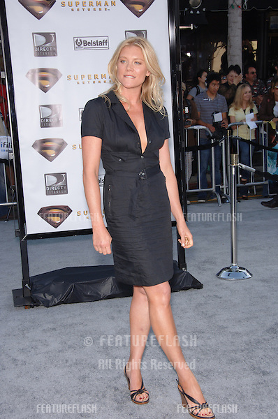 "Actress PETA WILSON at the world premiere of her new movie ""Superman Returns"" in Los Angeles..June 21, 2006  Los Angeles, CA.© 2006 Paul Smith / Featureflash"