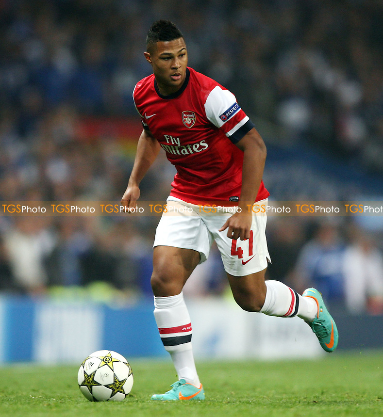 Serge Gnabry of Arsenal - Arsenal vs FC Schalke 04, Champions League Group B at The Emirates Stadium, Arsenal - 24/10/12 - MANDATORY CREDIT: Rob Newell/TGSPHOTO - Self billing applies where appropriate - 0845 094 6026 - contact@tgsphoto.co.uk - NO UNPAID USE.