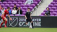 Orlando, Florida - Saturday January 13, 2018: Luis Argudo. Match Day 1 of the 2018 adidas MLS Player Combine was held Orlando City Stadium.