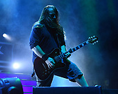 WEST PALM BEACH, FL - MAY 11: Mark Morton of Lamb Of God performs at The Coral Sky Amphitheatre on May 11, 2019 in West Palm Beach Florida. Credit Larry Marano © 2019