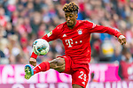 05.10.2019, Allianz Arena, Muenchen, GER, 1.FBL,  FC Bayern Muenchen vs. TSG 1899 Hoffenheim, DFL regulations prohibit any use of photographs as image sequences and/or quasi-video, im Bild Kingsley Coman (FCB #29) <br /> <br />  Foto © nordphoto / Straubmeier