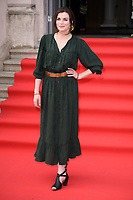 "Aisling Bea<br /> arriving for the premiere of ""The Wife"" at Somerset House, London<br /> <br /> ©Ash Knotek  D3418  09/08/2018"