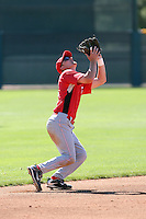 Kevyn Feiner, Cincinnati Reds 2010 minor league spring training..Photo by:  Bill Mitchell/Four Seam Images.
