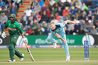 Ben Stokes (England) in action during England vs Bangladesh, ICC World Cup Cricket at Sophia Gardens Cardiff on 8th June 2019