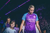 Orlando, FL - Wednesday September 11, 2019: Alanna Kennedy , Orlando Pride vs  Chicago Red Stars at Exploria Stadium.