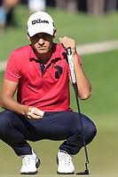Joakim Lagergren (SWE) on the 7th green during Saturday's Round 3 of the 2018 Turkish Airlines Open hosted by Regnum Carya Golf &amp; Spa Resort, Antalya, Turkey. 3rd November 2018.<br /> Picture: Eoin Clarke | Golffile<br /> <br /> <br /> All photos usage must carry mandatory copyright credit (&copy; Golffile | Eoin Clarke)