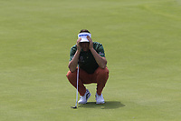Ian Poulter (ENG) on the 6th green during Thursday's Round 1 of the Dubai Duty Free Irish Open 2019, held at Lahinch Golf Club, Lahinch, Ireland. 4th July 2019.<br /> Picture: Eoin Clarke | Golffile<br /> <br /> <br /> All photos usage must carry mandatory copyright credit (© Golffile | Eoin Clarke)