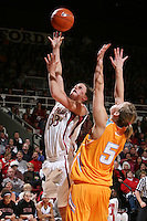 22 December 2007: Jillian Harmon during Stanford's 73-69 win over Tennessee at Maples Pavilion in Stanford, CA.
