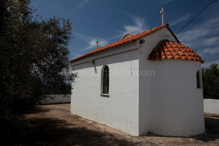 Small Greek orthodox chapel, Ana Vouves, Crete
