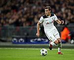 Tottenham's Harry Winks in action during the Champions League group match at Wembley Stadium, London. Picture date December 7th, 2016 Pic David Klein/Sportimage