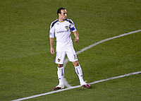 LA Galaxy forward Landon Donovan. The LA Galaxy defeated the New England Revolution 1-0 at Home Depot Center stadium in Carson, California on Saturday evening March 27, 2010.  .
