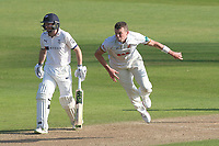 Peter Siddle in bowling action for Essex during Essex CCC vs Yorkshire CCC, Specsavers County Championship Division 1 Cricket at The Cloudfm County Ground on 4th May 2018